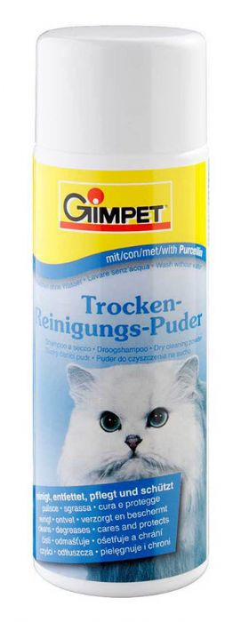 Сухой шампунь для кошки
